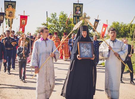 Иверский образ Пресвятой Богородицы вернулся в Воскресенско-Мироносицкий монастырь