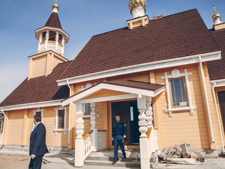 В Ахтубинском гарнизоне освящен храм в честь святого великомученика Георгия Победоносца