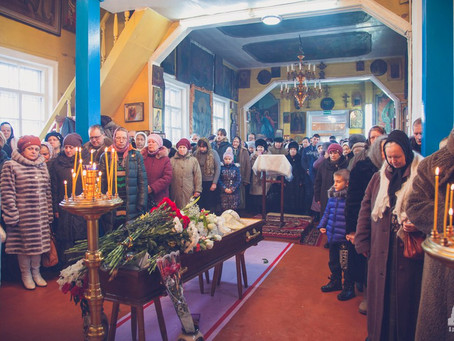 В Капустином Яре простились с протоиереем Виктором Шопиным