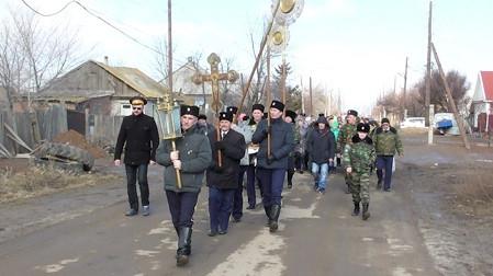 Черноярские казаки почтили память новомучеников и исповедников Церкви Русской крестным ходом