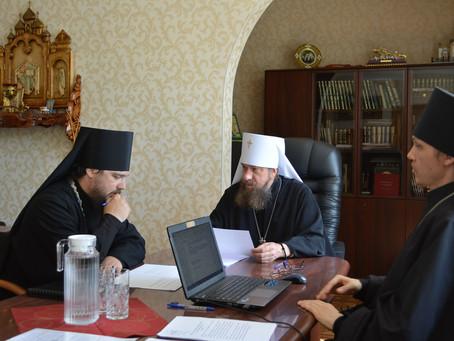 Состоялось очередное заседание Архиерейского совета митрополии