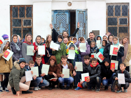 В селе Растопуловка прошёл пятый регулярный слёт молодёжи Ахтубинской епархии