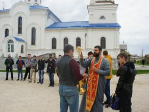 Мотосезон в Ахтубинске начался с молитвы