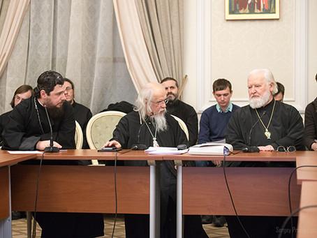 Епископ Антоний принял участие в пастырском семинаре по вопросам социального служения в ПСТГУ