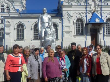 Состоялась встреча ветеранов из сел Старица и Солёное Займище