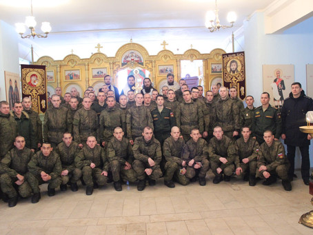 В праздник Богоявления в Ахтубинском районе приняли крещение две женщины и 43 военнослужащих по приз