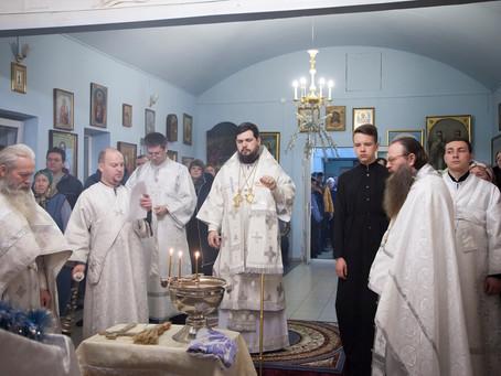 На приходах епархии встретили праздник Богоявления