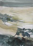 Josée Wolf, aquarelle, vs 1976-1985