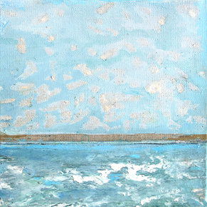 Bleu azur (version 2), 2016