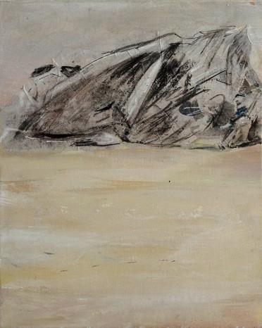 16. Des rochers à Pors Névez, 2016