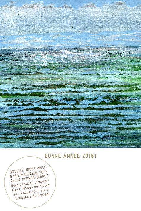 Josee Wolf, Tricoter la mer, 2014