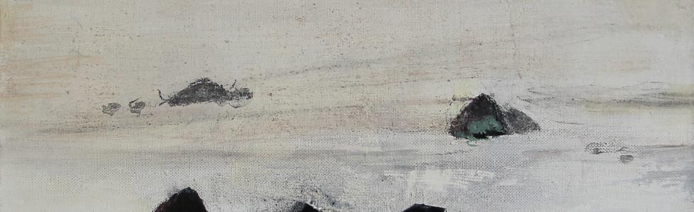 Les Rochers noirs à Pors Nevez, nov. 2015