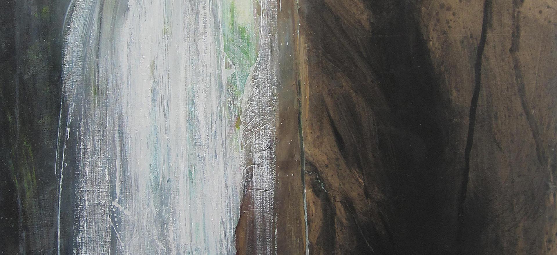 Dans la grotte, cascade et rivière, 2015-2016