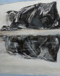 17. La flaque et le reflet (variation 2), 2016