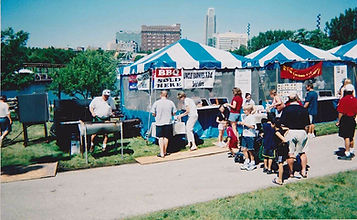 Uncle Earnie's BBQ & Catering at Taste of Omaha