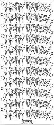 Peelcraft Happy Birthday large