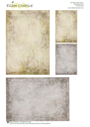 A4 Topper Sheet - Backgrounds (two A4 sheets)