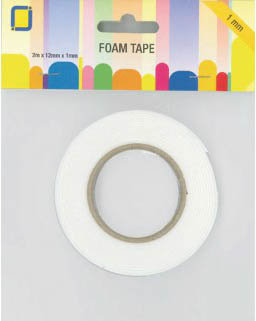 1mm Adhesive Foam Tape