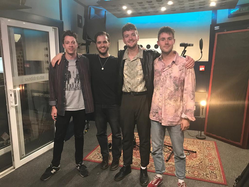 After recording a single for Millennials!