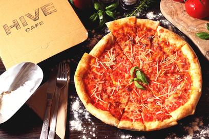 Pizza social media content
