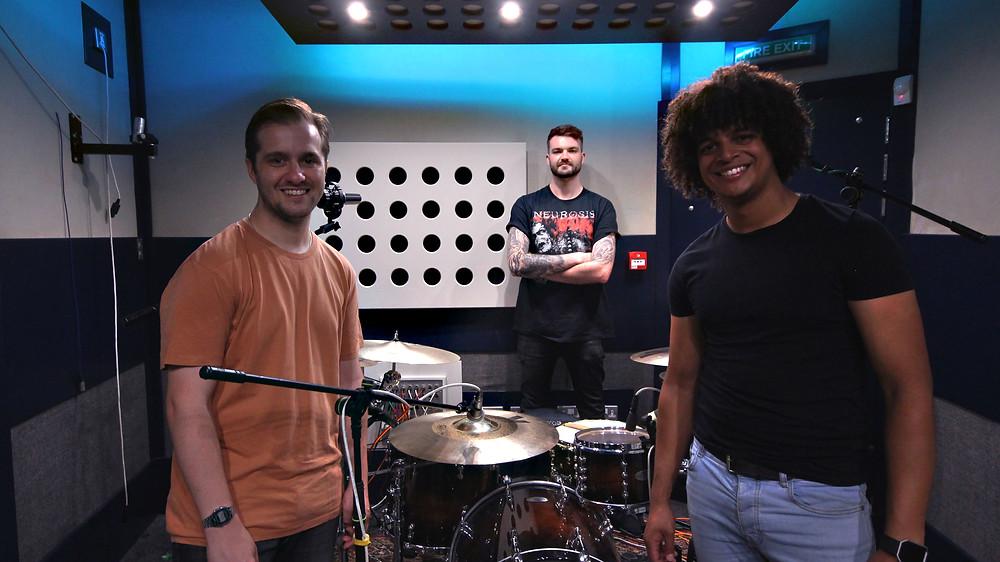 Jack Longman and Shattered Knees at Soundlab Studios