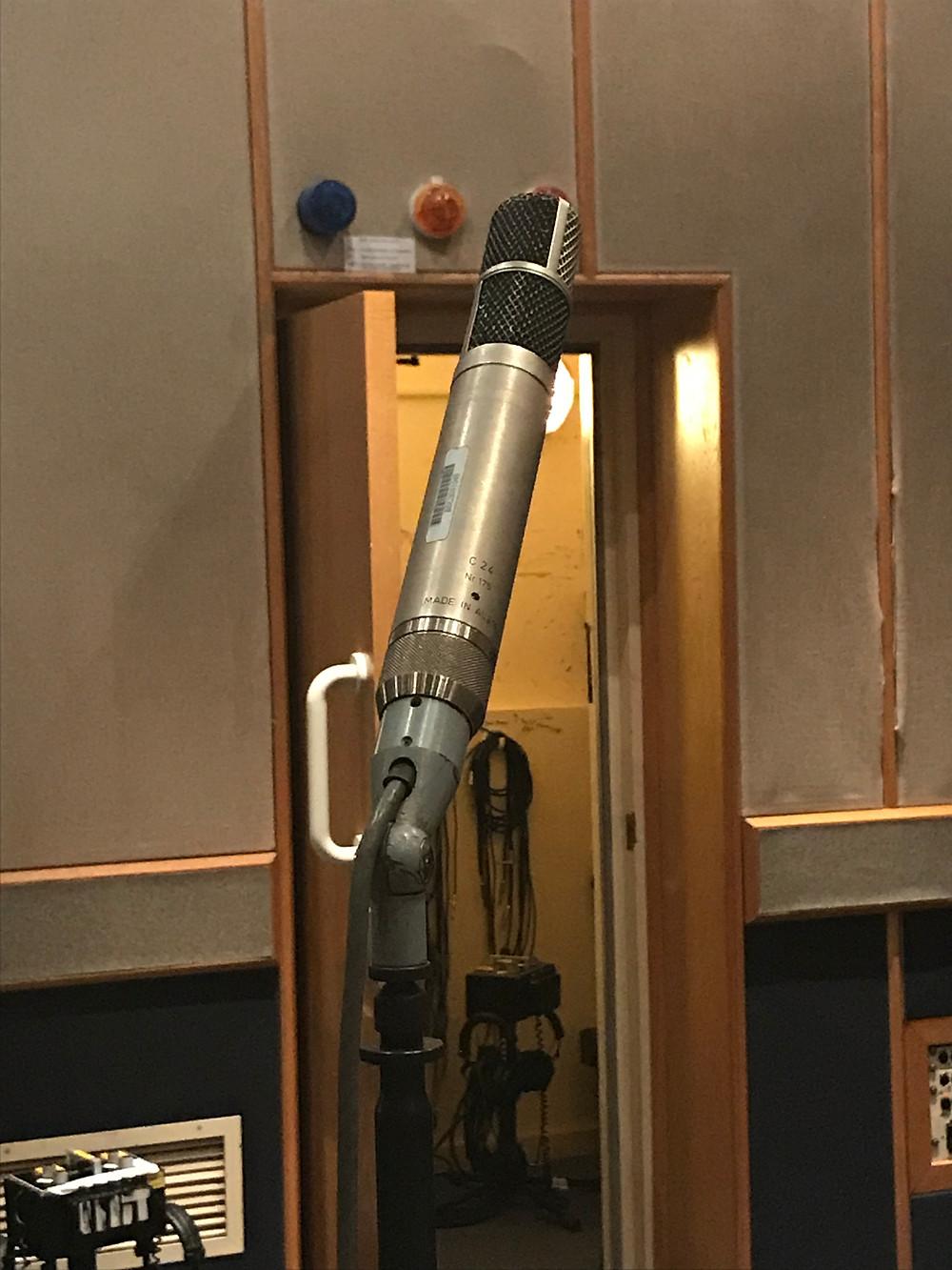 Rare Original AKG C24 Stereo Condenser Microphone