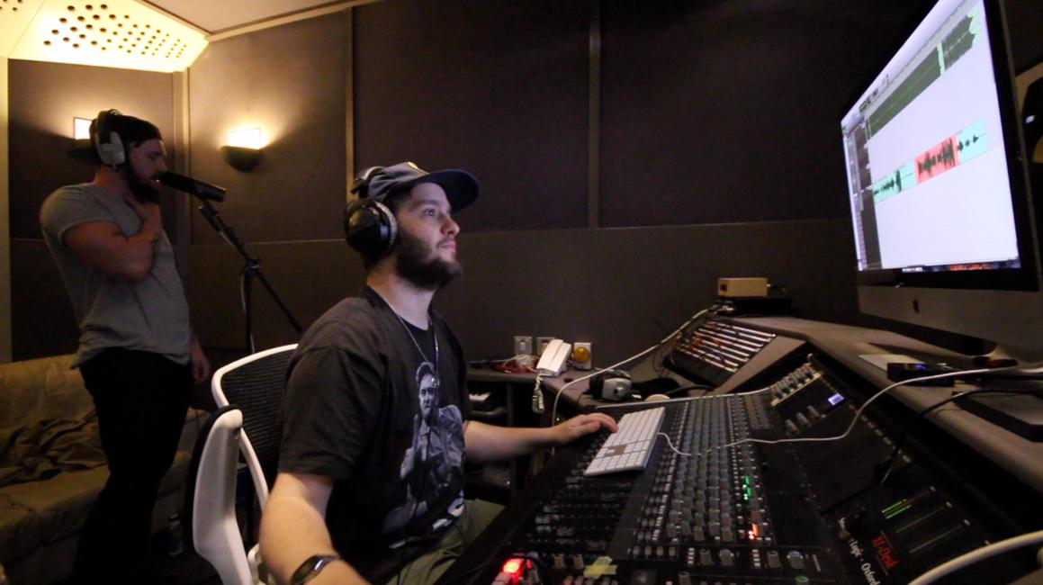 Recording vocals :)