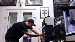 Recording engineer social media photo
