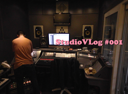 Studio VLog #001 | Recording Drums with Shattered Knees