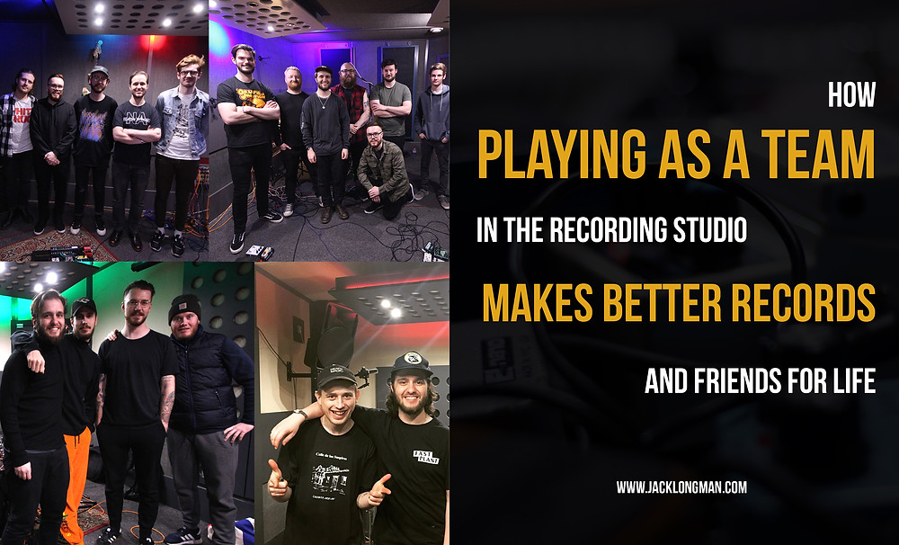 How playing as a team in the recording studio makes better records and friends for life.