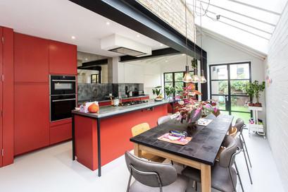 London modern kitchen design and refurb