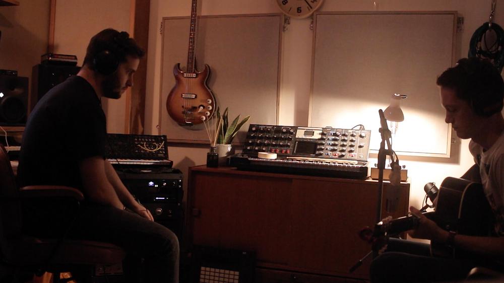 Jack Longman recording Matthew Shepherd EP