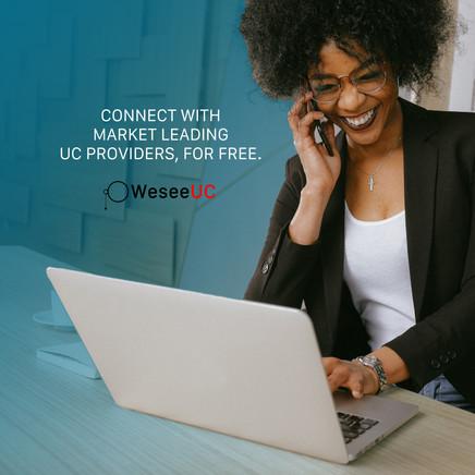 Weseeuc Telecommunications Referral Company Advert