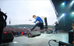 Rock Musician Social Media Photo