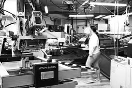 Factory worker social media