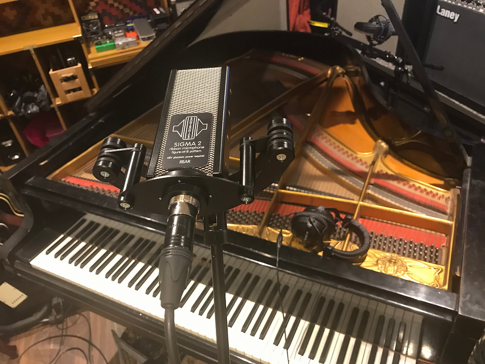 Sontronics Sigma 2 Microphone Recording Grand Piano