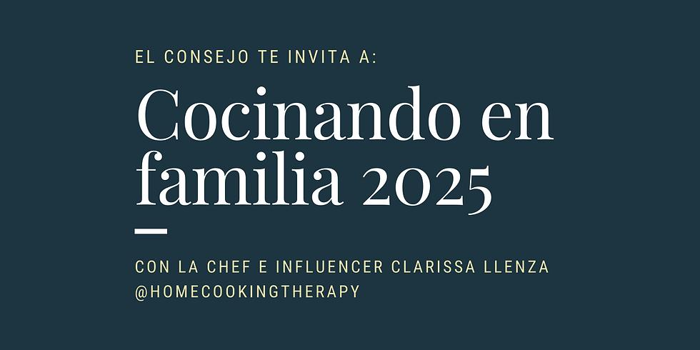 Cocinando en Familia 2025