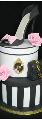 cake design Girly escarpin