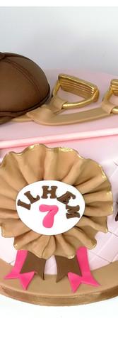 Cake design équitation