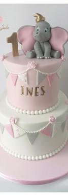 Cake design 1 an premier anniversaire dumbo