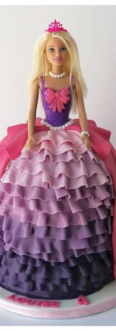 Cake design Barbie