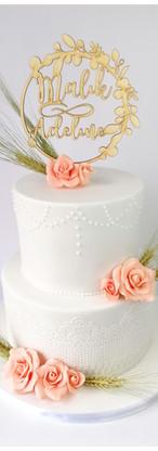 Wedding cake noces de froment