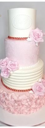 Wedding cake en crème
