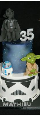 cake design Star wars