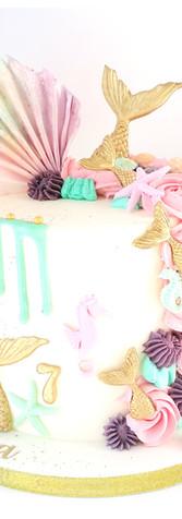 Drip cake sirène