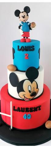 Cake design Mickey Rugbyman