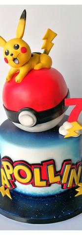 Cake design gâteau Pokémon pokeball Pikachu