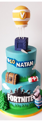fortnite cake design gâteau
