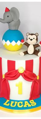 Cake design cirque