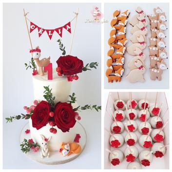 cake design 1an woodland